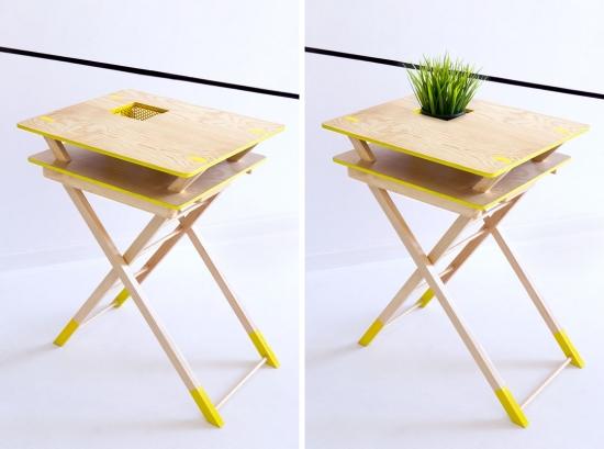 来自Egue y Seta的双层折叠桌。具备存储能力,方便收纳,外形靓丽。为使用者带来乐趣和享受。 时尚家居设计:双层折叠桌 时尚家居设计:双层折叠桌 时尚家居设计:双层折叠桌 时尚家居设计:双层折叠桌
