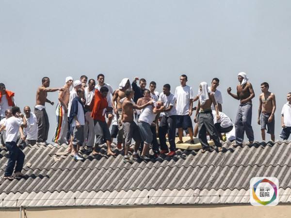 巴西监狱暴动 上千犯人打砸劫持人质(图)