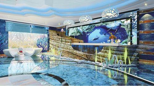 cn学生们的室内设计和灯具设计作品融入了海洋文化