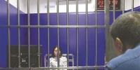 女司机张某因无证驾驶及肇事逃逸,将面临行政拘留20天的处罚 交警供图 - 新浪广东
