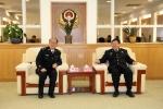 """杨江华接见""""国家科技进步奖""""获奖民警代表 - 广州市公安局"""