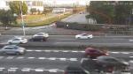 交警最新通报:环城路的灯柱是被一辆拖车撞倒的!正全力追查肇事车辆 - News.Timedg.Com