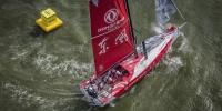 环球帆船赛中国东风队暂居第三 - 体育局