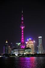 上海东方明珠为广州花市亮灯。 - 新浪广东