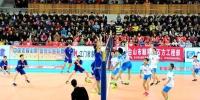 台山春节排球大拜年活动之第十三届男子九人排球联赛圆满谢幕 - 体育局