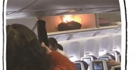 南航航班行李架充电宝着火 事发时未在使用状态 - 新浪广东
