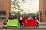 外语系学生党支部前往革命烈士纪念碑扫墓 - 广东科技学院