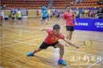 2018年湛江市首届羽毛球公开赛收官 - 体育局
