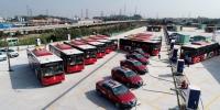 番禺区首个大型纯电动公交车充电站在南村镇落成 - 广东大洋网