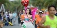 中国选手闪耀2018巽寮湾滨海半程马拉松 - 体育局