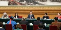 2019年3月5日,习近平参加十三届全国人大二次会议内蒙古代表团的审议。 - News.21cn.Com