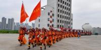 广东省多地消防救援队伍开展跨区域地震救援拉动和演练 - 消防局