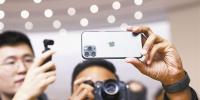 ■iPhone 11 Pro/Max的暗夜绿成最受欢迎机型。VCG/供图 - 新浪广东