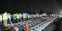 东北货车外绕线铁路江村站站改工程正式启动 - 广东大洋网
