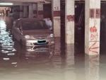 """平安产险广东分公司""""施救""""受水淹车辆 - 新浪广东"""