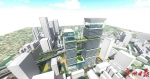 """越秀中心区将更新改造,东濠涌旁建198米""""越秀之心"""" - 广东大洋网"""