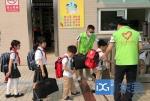 """文明创建在路上丨虎门外语学校:行走的""""绿马甲"""",校园最美风景线 - News.Timedg.Com"""