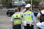 南城义警交通劝导队正式上线 - News.Timedg.Com