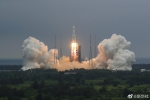搭载着中国空间站天和核心舱的长征五号B遥二运载火箭点火升空 - News.Timedg.Com