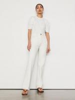 Le Italien系列白色牛仔裤 - 新浪广东
