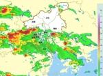 花都区暴雨黄色预警、雷雨大风黄色预警正生效 - 广东大洋网